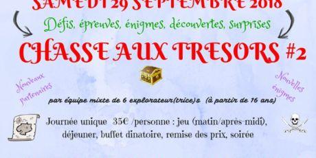 """LUPUS FRANCE et l'association """" Les TrouveTout """" s'associent le 29 Septembre 2018 à ALBI (81) pour une CHASSE AUX TRÉSORS"""
