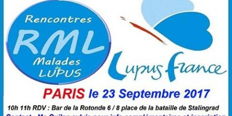 Rencontre RML à PARIS 23-09-2017
