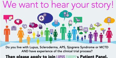 LUPUS EUROPE recherche 12 patients européens pour groupe d'essais cliniques