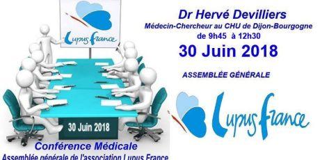 Conférence et Assemblée Générale Samedi 30 juin 2018